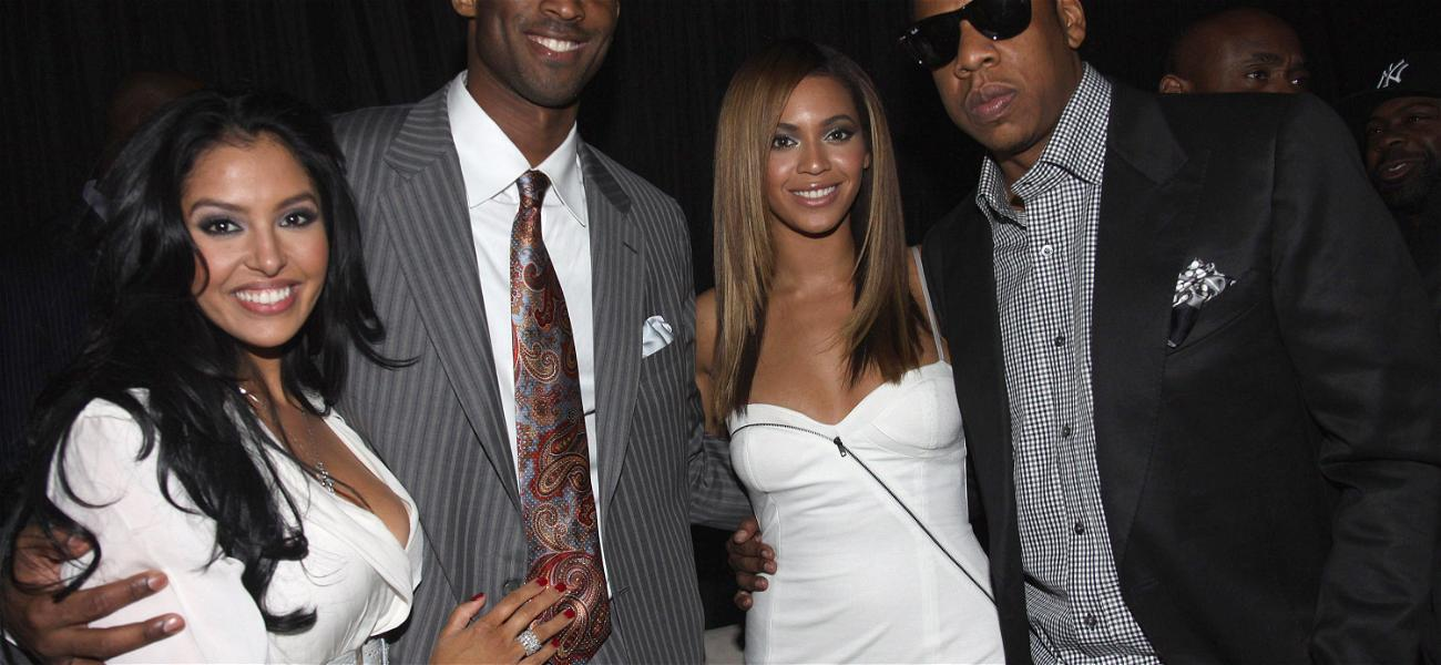 Beyonce Consoled Kobe Bryant's Wife, Vanessa, During Celebration Of Life Ceremony