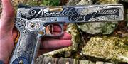 Jesse James Made a .45 Caliber Pistol for President Trump