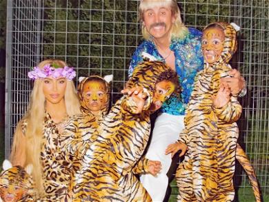 Joe Exotic Approves Of Kim Kardashian's 'Tiger King' Halloween Costume