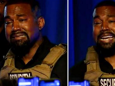 Kanye West Emotionally Breaks Down During Campaign Rally: 'I Almost Killed My Daughter'