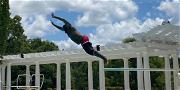 Rapper Rick Ross Shows Off His Diving Skills & Insane Pool Amid Baby Mama Drama