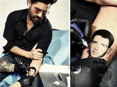 John Stamos Gets New Ink … Of Nick Jonas' Face