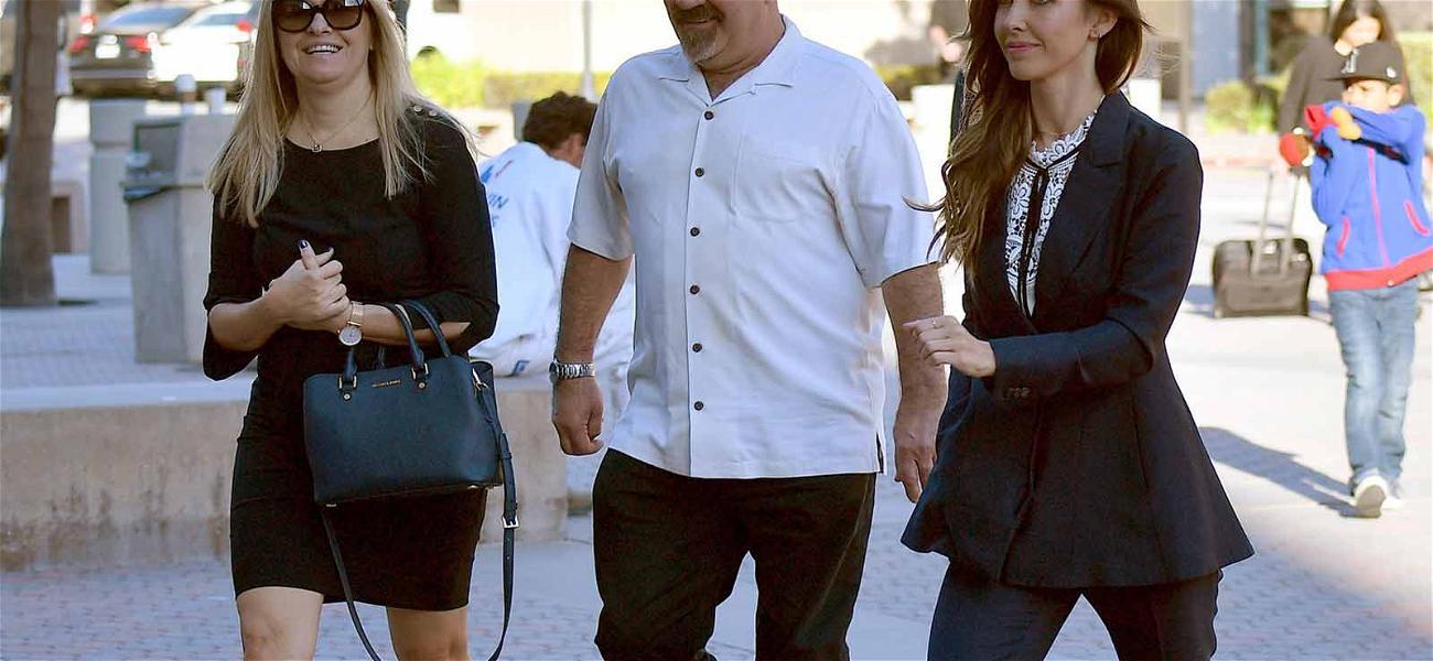 Audrina Patridge and Corey Bohan Arrive for Courtroom Showdown