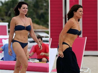 'RHONY' Star Luann de Lesseps Returns to Florida to Slay the Beach After Drunken Tirade Arrest