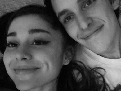 Ariana Grande Is Engaged! Shows Off Massive & Unique Diamond Ring