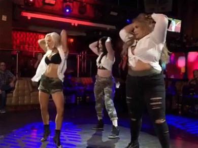 'Total Divas' Cast Gets Raunchy For Strip Club Dance-Off