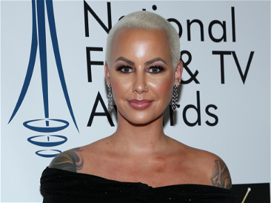 Amber Rose Shows Off 'Big Boy' Baby Bump Ahead Of Giving Birth