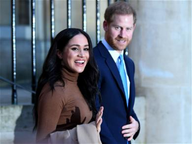 Meghan Markle Steps Out In Iconic 'Suits' Sweater For First Canadian Appearance