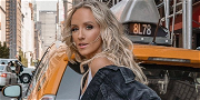 Gymnast Nastia Liukin Looks Like A Stylish Greaser In Boots And Black Leather Jacket