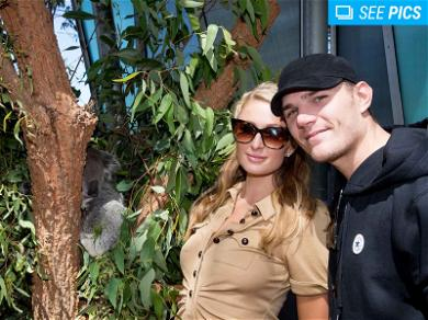 Paris Hilton and Chris Zylka Spend Koala-ty Time Together At Zoo