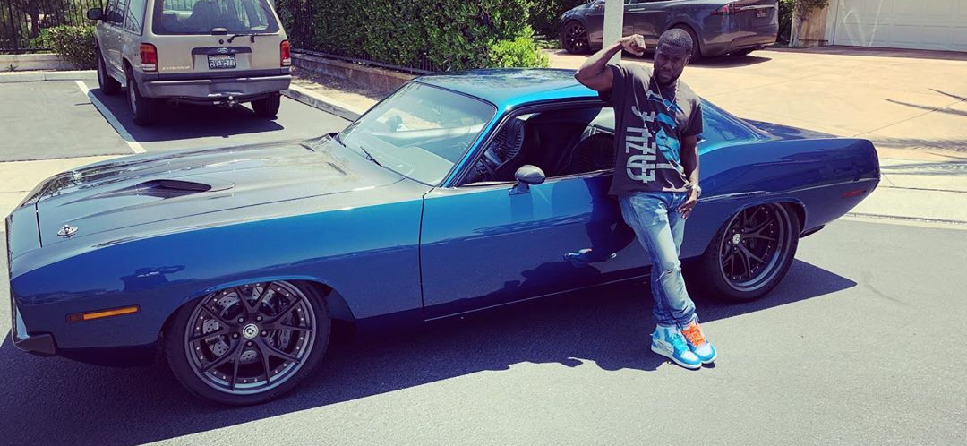 Kevin Hart Injured In Muscle Car Wreck, Star Was Not Driving