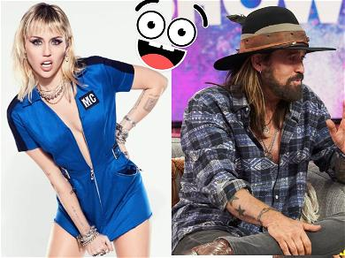 Miley Cyrus Says Her Dad Won't Get An iPhone To FaceTime: 'My Dad Is Crazy'