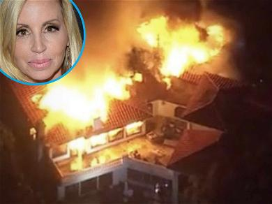 'RHOBH' Star Camille Grammer Forced to Move in With Parents After Losing Mansion in Wildfire