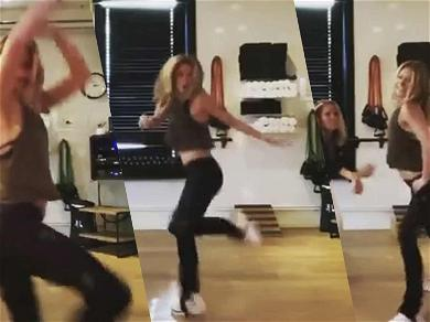 Kelly Ripa Brings The Heat With Sexy Shakira Dance For Super Bowl Audition