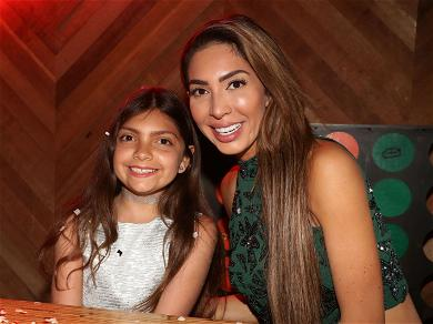 Controversial Reality Star Farrah Abraham Outrages Fans with Picture of Daughter Wearing Mask During Pandemic