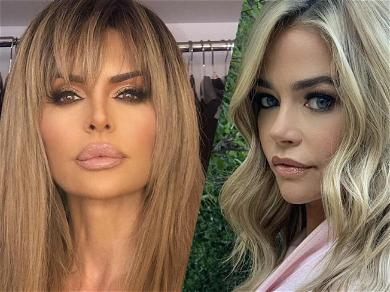 'RHOBH' Lisa Rinna Takes Shot At Denise Richards With Lying 'Friends' Jab