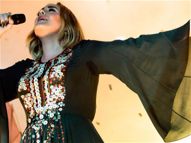 Adele Rocks Skin Tight Beyoncé Jumpsuit Showing Off STUNNING 100-Pound Weight Loss!!