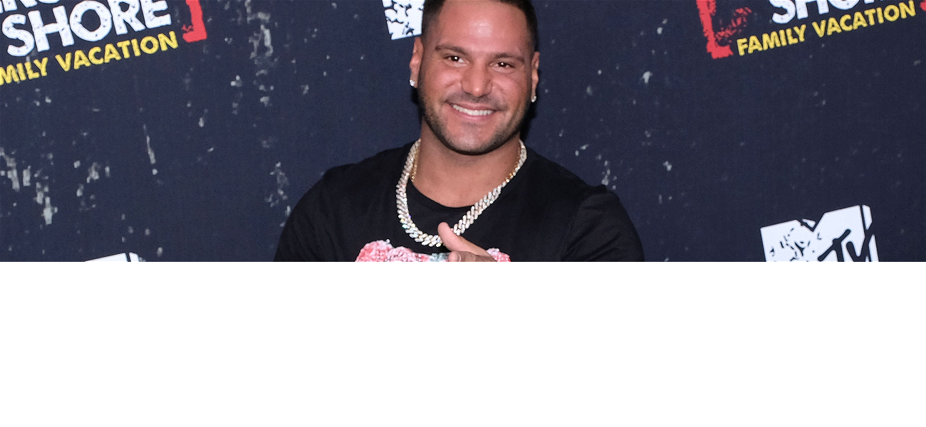 'Jersey Shore' Star Ronnie Ortiz-Magro Back to Pushing CBD Lotion After Arrest