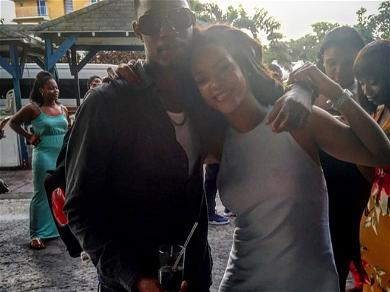 Rihanna With Her Cousin Tevon