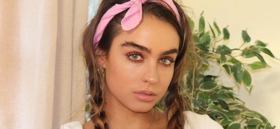Sommer Ray Explores Gas Station In Swimsuit With A Coca-Cola