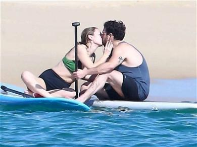Jonah Hill and Mystery Girlfriend Enjoy Paddle Boarding Makeout Session