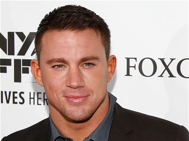 Channing Tatum Lets His 7-Year-Old Daughter Do His Makeup Blindfolded
