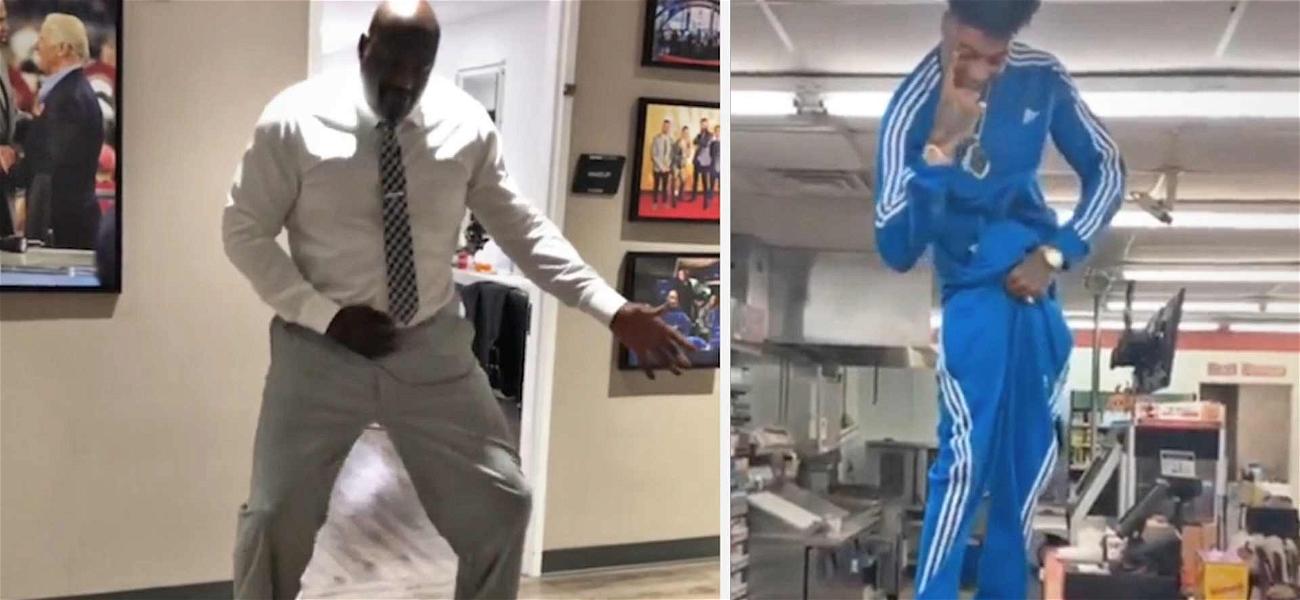 Bust Down SHAQIANA! Shaq Dances to Blueface's 'Thotiana'