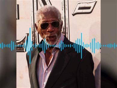 Morgan Freeman Openly Objectifies Female Reporter During Press Interview (AUDIO)