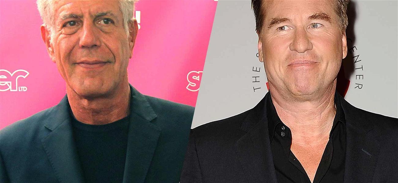 Val Kilmer Calls Anthony Bourdain's Suicide 'So Selfish'
