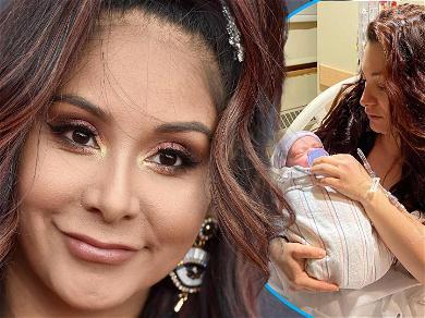 Snooki Congratulates 'Jersey Shore's Deena Cortese On Birth Of Baby #2