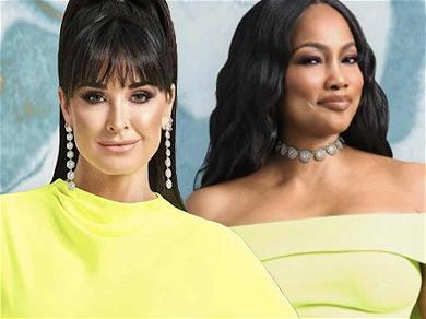 'RHOBH' Star Kyle Richards Shades Garcelle Beauvais: 'She's Looking For A Storyline'