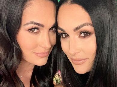 Nikki Bella Posts Sister Brie Twerking In Transparent Dress On Instagram!