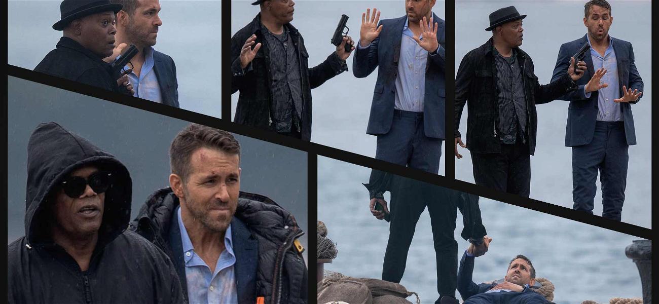 Ryan Reynolds Gets Slapped Down by Samuel L. Jackson During Filming in Croatia