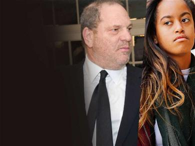 Malia Obama May Be Dragged into Harvey Weinstein Debacle for Deposition