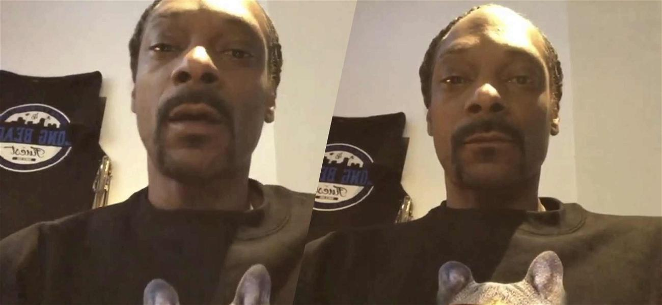 Snoop Dogg Says 'I'm Good', Holds Breath For 10 Seconds With No Coughing Amid Coronavirus Concern