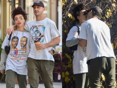 Shia LaBeouf and FKA Twigs Confirm Relationship With Hot Makeout Session
