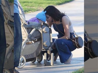 Selena Gomez Wearing Overalls While Nuzzling a Baby Is Cuteness Overload