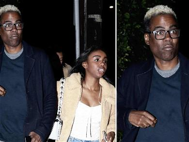 Chris Rock Has Blond Ambition at Dinner Date with Daughter
