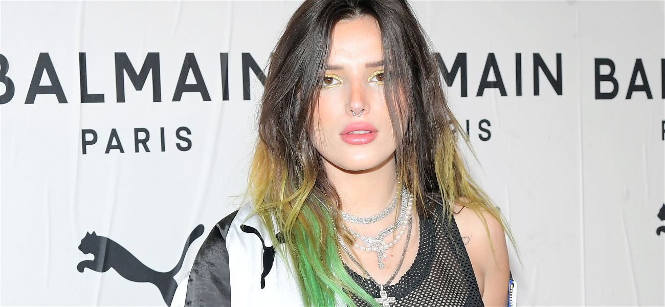 Bella Thorne Celebrates Her Sexy Long Hair In Steamy Shower Video