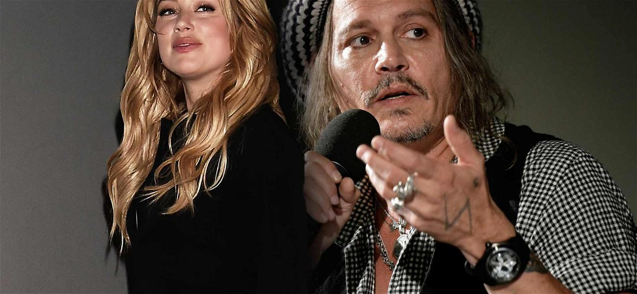 Johnny Depp Fights Back Against Claim He Tried to Get Amber Heard Fired From 'Aquaman'