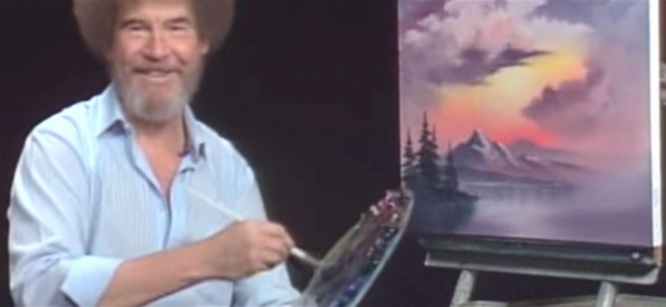 Bob Ross' Son Files Happy Little Lawsuit Over Painter's Merchandise