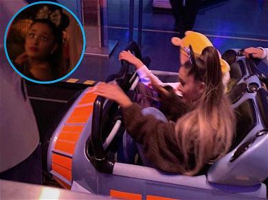 Ariana Grande Celebrates at Disneyland After Smashing Streaming Record