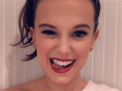 Millie Bobby Brown Is Too Vogue In Checkered Bikini