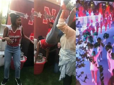 Gabrielle Union Does Keg Stands, Plays Beer Pong at Epic Baby Shower