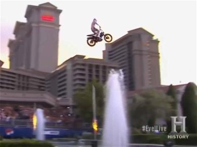 Travis Pastrana Nails 3 Iconic Evel Knievel Tribute Jumps in One Night!