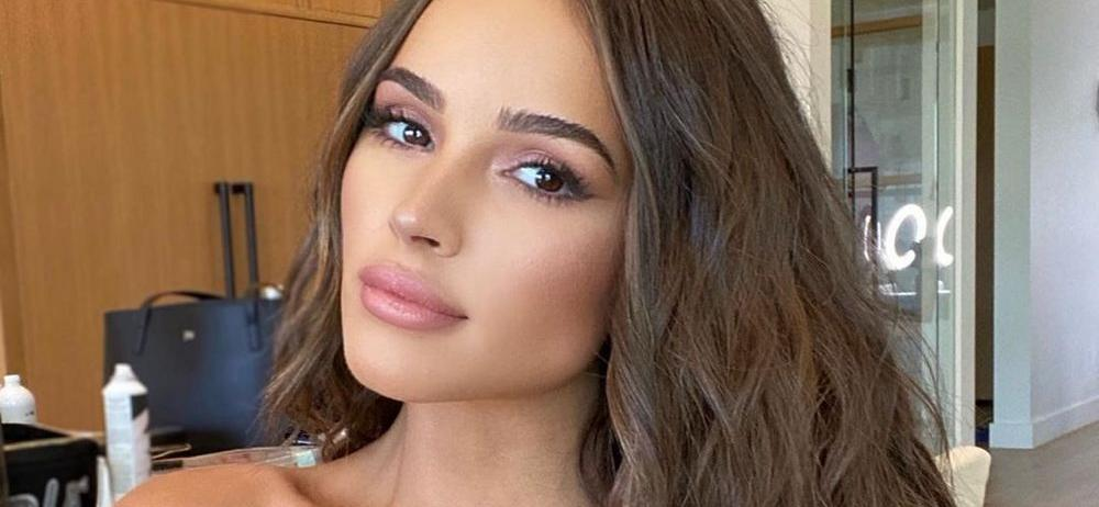 Olivia Culpo Forgets Her Pants In T-Shirt That 'Shrunk'