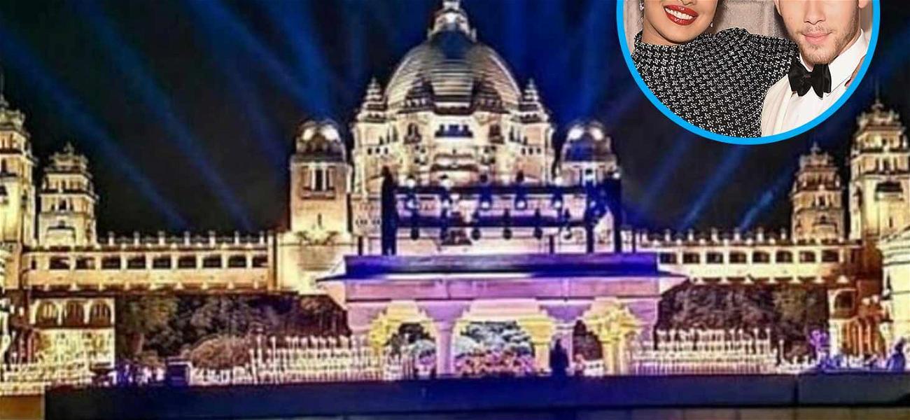 Nick Jonas & Priyanka Chopra's Wedding Venue is Lit!