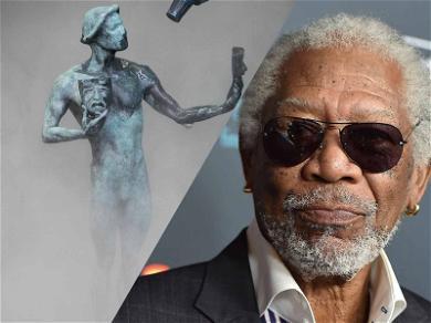 Morgan Freeman Calls Out 'Gender Specific' SAG Statue