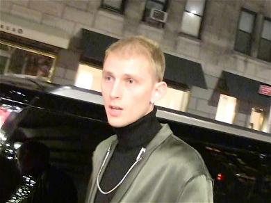 Machine Gun Kelly Plugs Movie With Pete Davidson After Meeting With Troubled 'SNL' Star