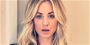 Kaley Cuoco Flexes Ripped Guns In Stunning Silver Dress